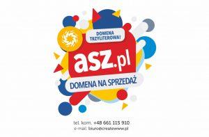 Domeny internetowe - asz.pl. Trzyliterowa domena internetowa na sprzedaż.