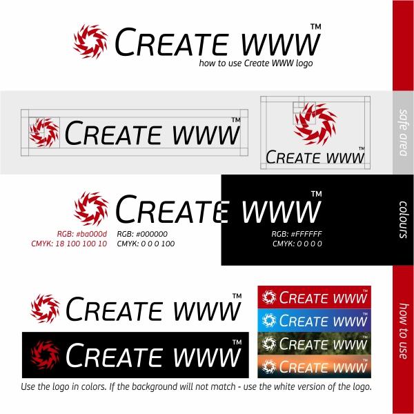 Jak korzystać z logotypu Create WWW
