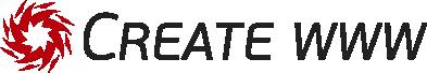 Create WWW - logotyp
